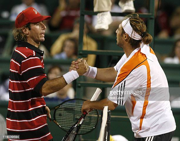 Vincent Spadea defeated Marcos Baghdatis 62 31 April 13 2006 at Westside Tennis Center in Houston Texas