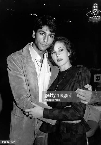 Vincent Spano and Diane Lane circa 1983 in New York City