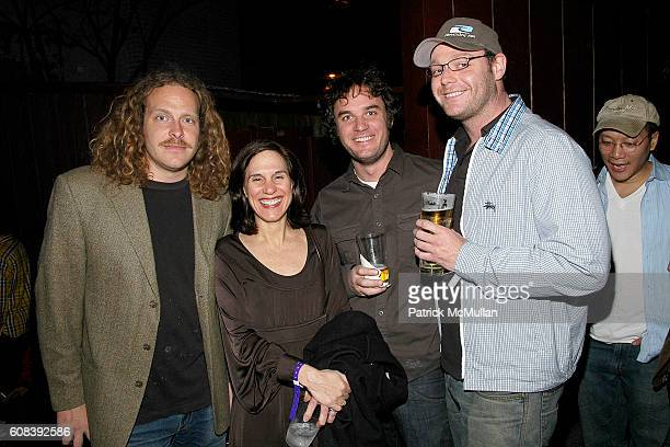 Vincent Szarek Lisa Roumell Jason Miller and Jon Lyon attend ALTOIDS the NEW MUSEUM Party to Celebrate the First Ever Altoids Award at Union Pool on...