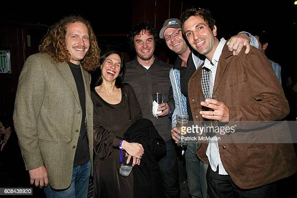 Vincent Szarek Lisa Roumell Jason Miller Jon Lyon and Chris Petty attend ALTOIDS the NEW MUSEUM Party to Celebrate the First Ever Altoids Award at...