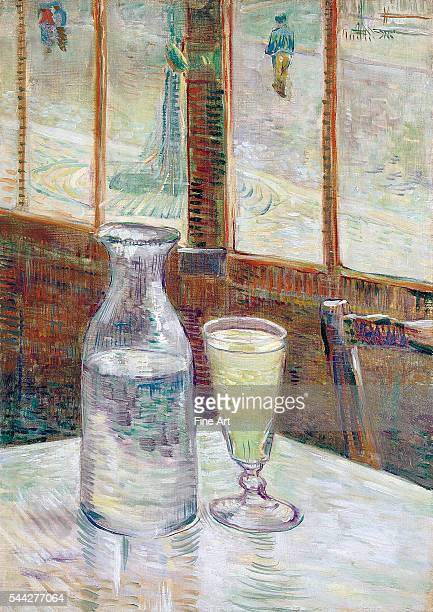 Vincent van Gogh Café Table with Absinthe oil on canvas 462 x 333 cm Van Gogh Museum Amsterdam