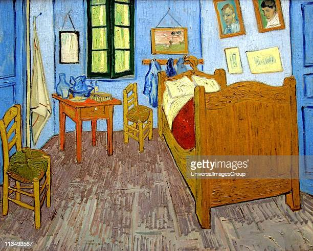 Vincent Van Gogh Dutch postImpressionist painter Van Gogh suffered from mental illness and died from a selfinflicted gunshot wound 'Bedroom at Arles'...