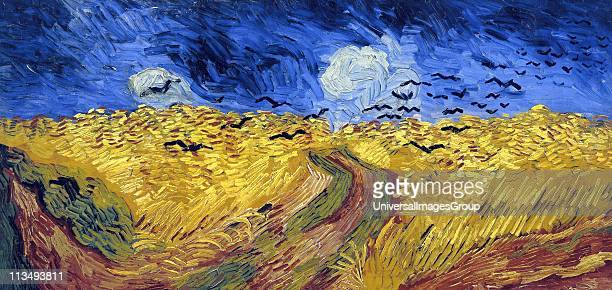 Vincent Van Gogh Dutch postImpressionist painter Van Gogh suffered from mental illness and died from a selfinflicted gunshot wound Wheatfield with...