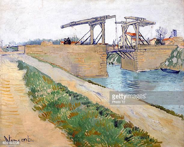 Vincent van Gogh Dutch school The Langlois Bridge 1888 Oil on canvas Amsterdam Van Gogh Museum
