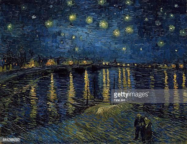 Vincent van Gogh La Nuit étoilée oil on canvas 72 x 92 cm Musée d'Orsay Paris