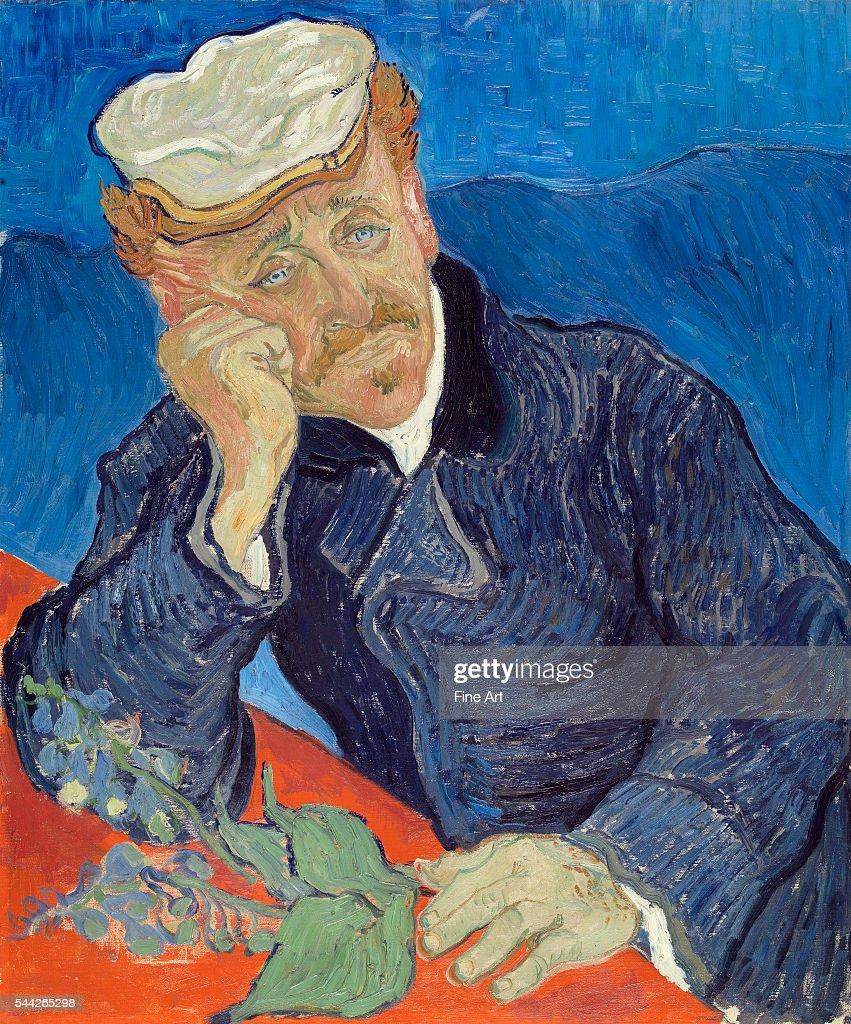 Le Docteur Paul Gachet (Dr. Paul Gachet) by Vincent van Gogh : News Photo
