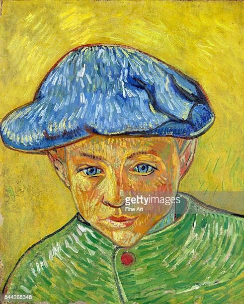 Vincent van Gogh Portrait of Camille Roulin NovemberDecember 1888 oil on canvas Van Gogh Museum Amsterdam