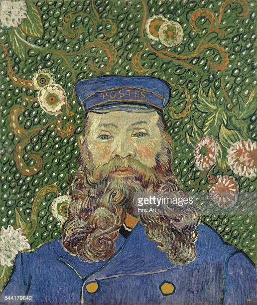 Vincent van Gogh Portrait of Joseph Roulin Arles early 1889 Oil on canvas 25 3/8 x 21 3/4' Museum of Modern Art New York   Located in Museum of...