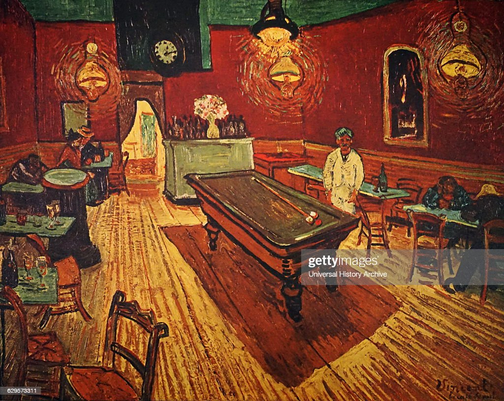 Vincent Van Gogh 1853 1890 Post Impressionist Painter The Night Café
