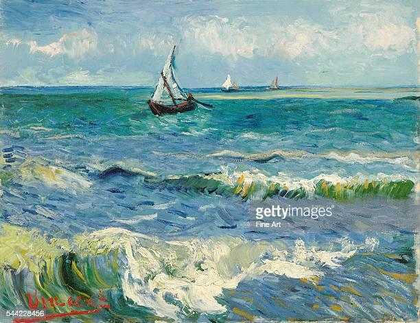 Vincent van Gogh Seascape near Les SaintesMariesdelaMer 1888 Oil on canvas 505 x 643 cm Van Gogh Museum Amsterdam Netherlands