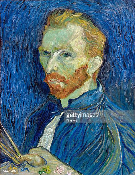 Vincent van Gogh SelfPortrait oil on canvas 571 x 438 cm National Gallery of Art Washington DC