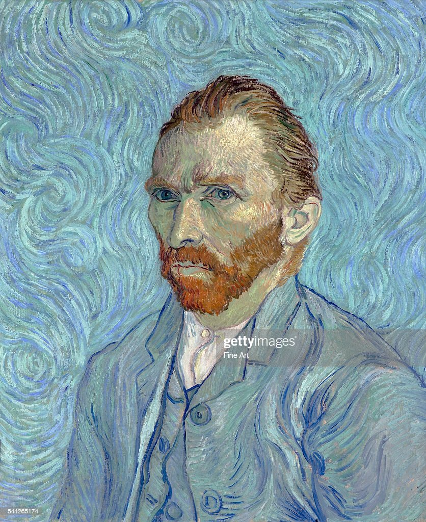 Self-Portrait by Vincent van Gogh : News Photo
