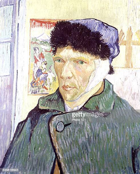 Vincent Van Gogh SelfPortrait With a Bandaged Ear Oil on canvas London Courtauld Institute