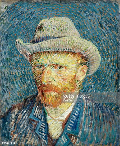 Vincent van Gogh SelfPortrait with Grey Felt Hat SeptemberOctober 1887 oil on canvas Van Gogh Museum Amsterdam
