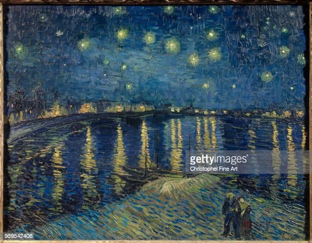 Vincent Van Gogh Starry Night Oil on canvas72 x 092 m Paris Orsay Museum