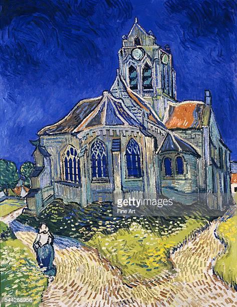 Vincent van Gogh , The Church in Auvers-sur-Oise, View from the Chevet oil on canvas, 94 x 74 cm , Musée d'Orsay, Paris