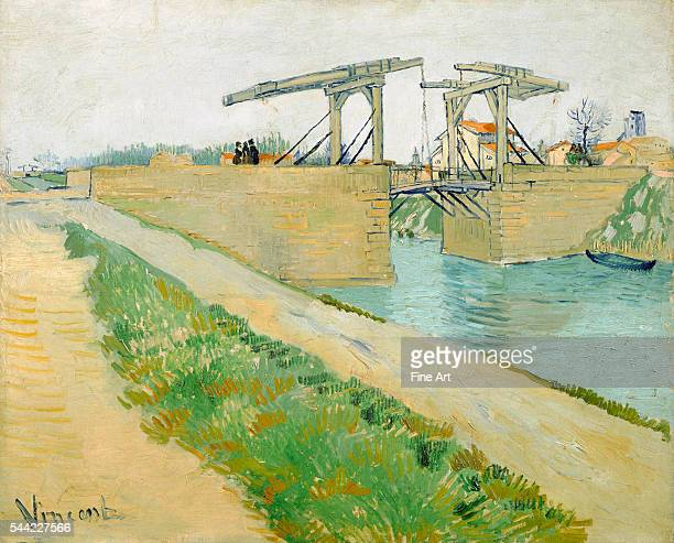 Vincent van Gogh The Langlois Bridge 1888 Oil on canvas 74 x 595 cm Van Gogh Museum Amsterdam Netherlands