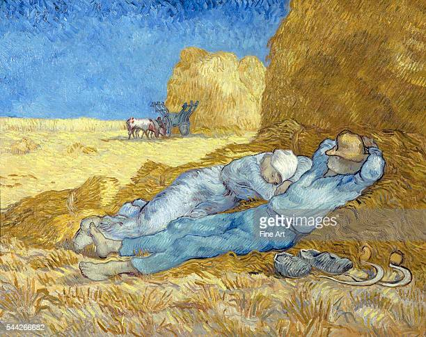 Vincent van Gogh The Siesta December 1889January 1890 oil on canvas 73 x 91 cm Musée d'Orsay Paris