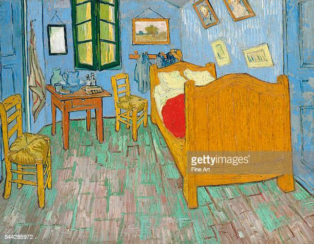 Vincent van Gogh Van Gogh's Bedroom oil on canvas 736 × 923 cm Art Institute of Chicago Chicago Illinois