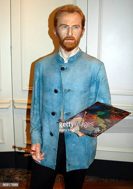 Vincent Van Gogh waxwork at Madame Tussaud's in London England