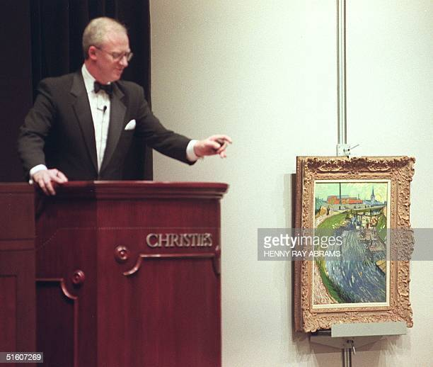 Vincent van Gogh's 'La Roubine du Roi' an important masterpiece from the artist's Arles period sold for less than the estimate of USD 20 million at...