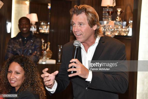 Vincent Van Patten attends High Roller's Night hosted by Baccarat with WPT DJ Mad Marj at Baccarat Flagship on July 17 2018 in New York City