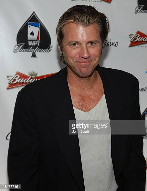 Vincent Van Patten during 2007 World Poker Tour Celebrity Invitational Red Carpet at Commerce Casino in Commerce California United States