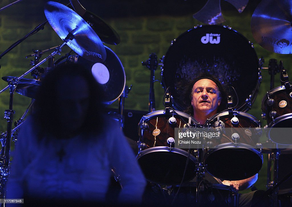 Vincent Vinny Appice of the band Heaven and Hell during a performance at Wembley Arena on November 10, 2007 in London, England.