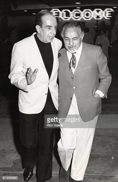 Vincente Minnelli and Edward G Robinson
