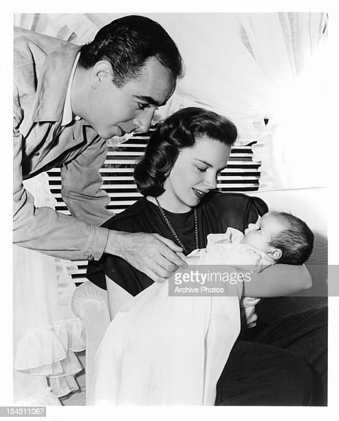 Vincente Minnelli and Judy Garland circa 1945