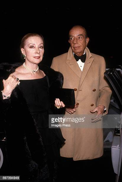 Vincente Minnelli and Lee Anderson circa 1979 in New York City
