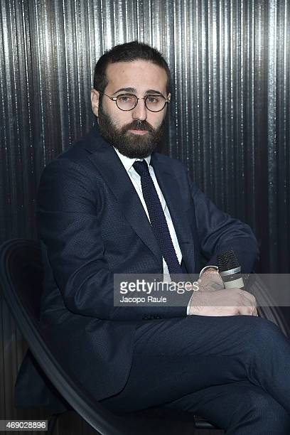 Vincenzo de Bellis attends 'Miart 2015' Press Preview on April 9, 2015 in Milan, Italy.