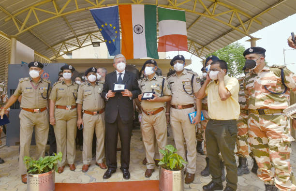 IND: Italian Ambassador To India Vincenzo De Luca Inaugurates Oxygen Plant At ITBP Referral Hospital At Greater Noida