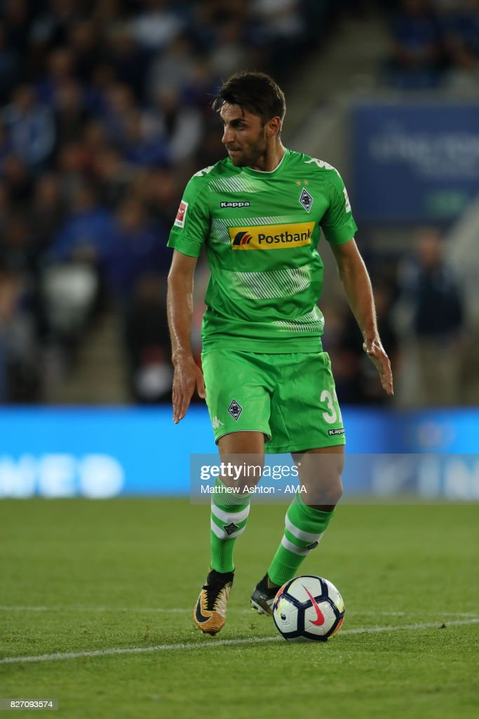 Vincenzo Grifo of Borussia Moenchengladbach during the preseason friendly match between Leicester City and Borussia Moenchengladbach at The King Power Stadium on August 4, 2017 in Leicester, United Kingdom.