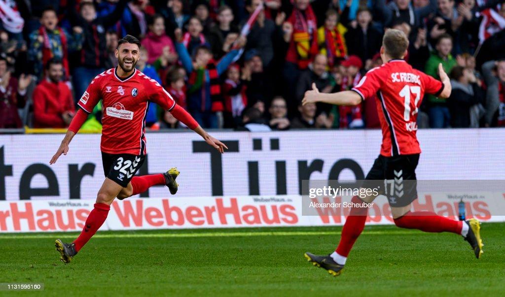 DEU: Sport-Club Freiburg v FC Augsburg - Bundesliga