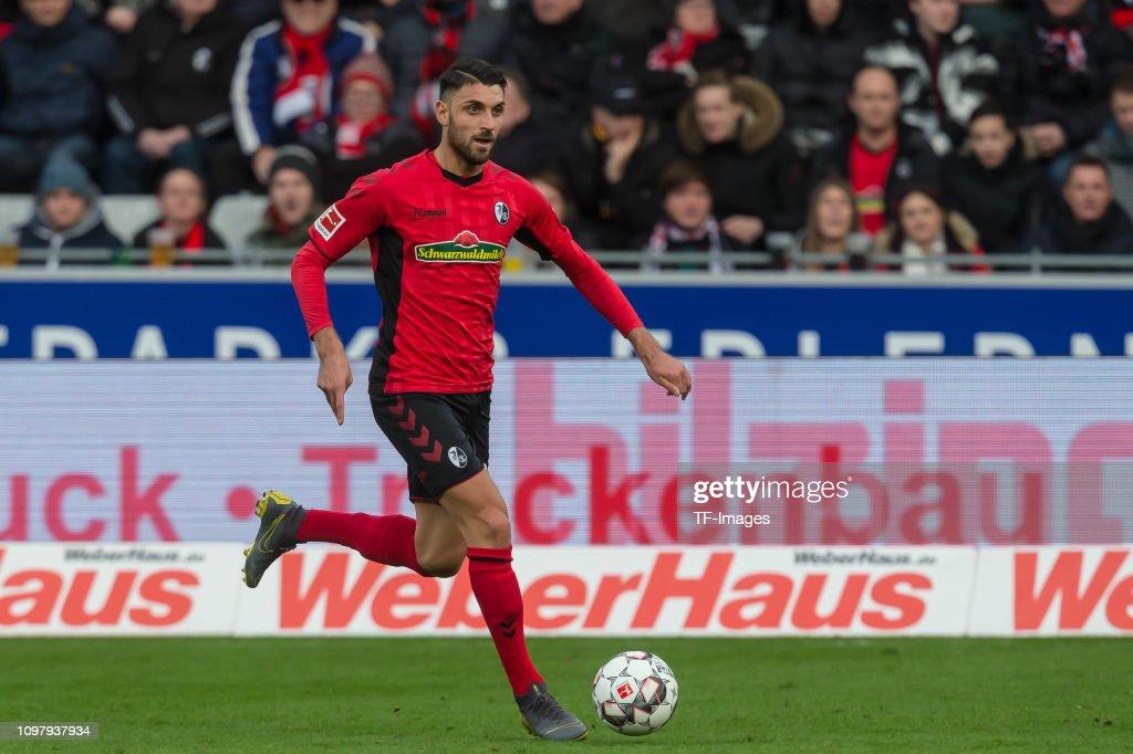 Sport-Club Freiburg v VfL Wolfsburg - Bundesliga : Nachrichtenfoto