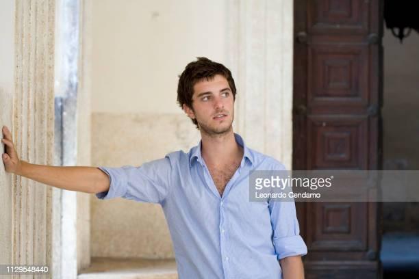 Vincenzo Latronico, Italian writer, portrait, Orbetello, Italy, 3rd September 2008.