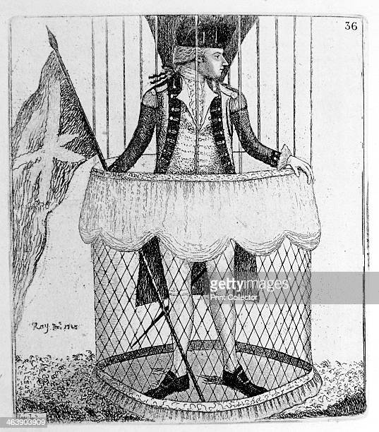 Vincenzo Lunardi Italian aeronaut 1785 Lunardi made the first hydrogen balloon ascent in Britain at Moorfields London on 15th September 1784 Here he...