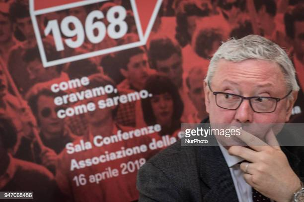 Vincenzo Maria Vita during Press conference to the foreign press On the occasion of the 50th anniversary of 1968 Agi Agenzia Italia has reconstructed...