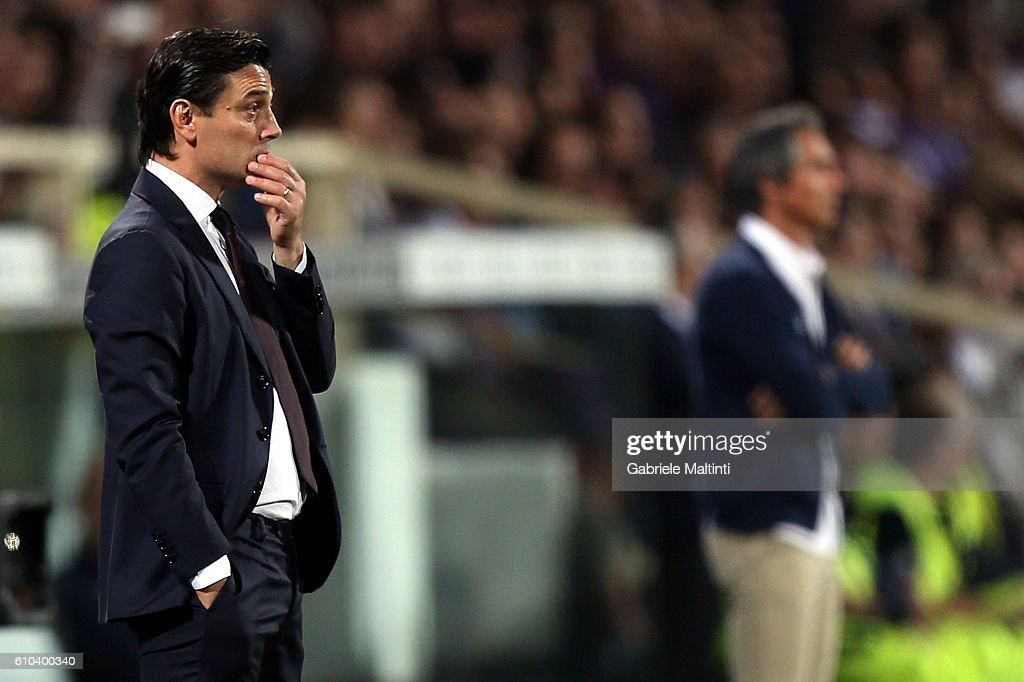 ACF Fiorentina v AC Milan - Serie A : Fotografía de noticias