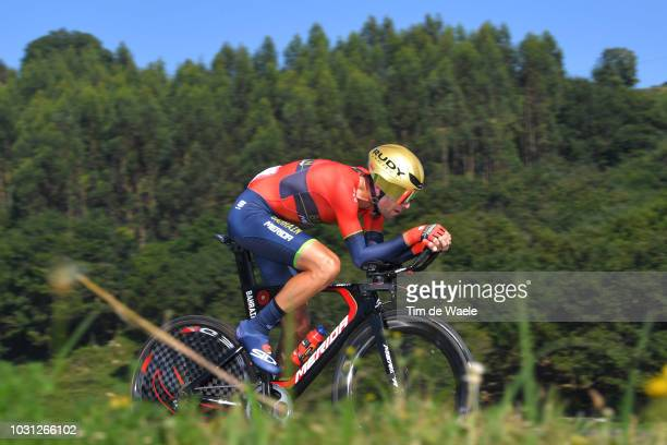 Vincenzo Nibali of Italy and Bahrain Merida Pro Cycling Team / during the 73rd Tour of Spain 2018 Stage 16 a 32km Individual Time Trial stage from...