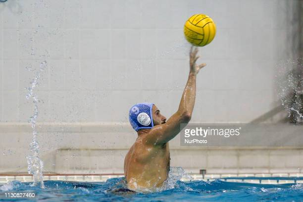 Vincenzo Renzuto Iodice of Pro Recco during the Champions League water polo match between Pro Recco and Barceloneta on march 15 2019 at Piscina...