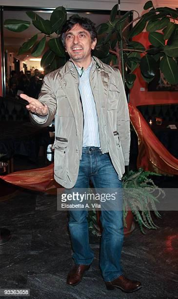 Vincenzo Salemme attends '2009 Margutta Awards' at Margutta RistoArte on November 24 2009 in Rome Italy