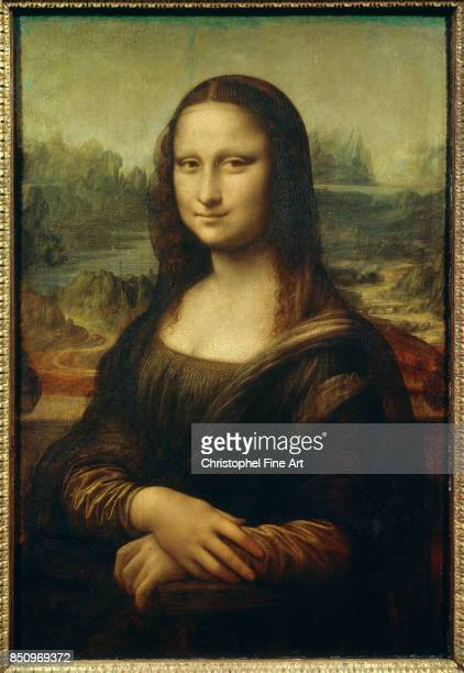 Vinci Leonardo Da The Mona Lisa 1503 Joconde Paris Louvre Museum