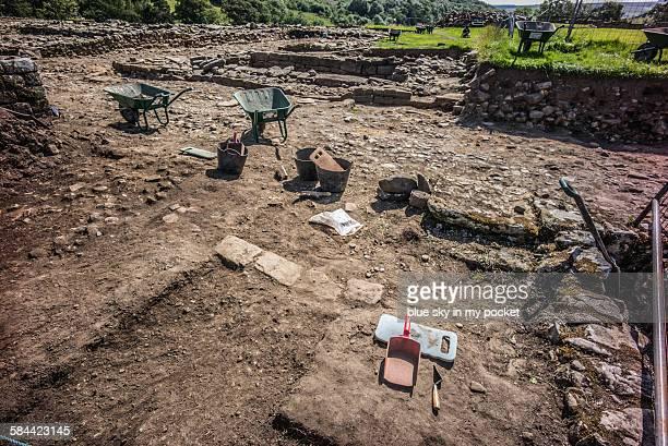 Vindolanda archaeology excavation