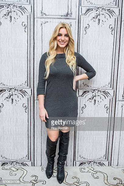 Vine star Lele Pons discusses her new book 'Surviving High School' at AOL Studios In New York on April 12 2016 in New York City