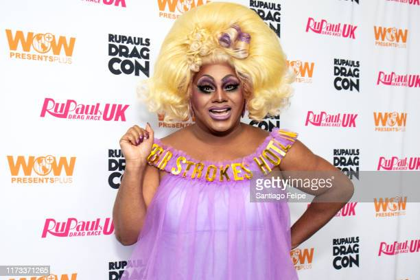 Vinegar Strokes attends RuPaul's DragCon 2019 at The Jacob K Javits Convention Center on September 08 2019 in New York City