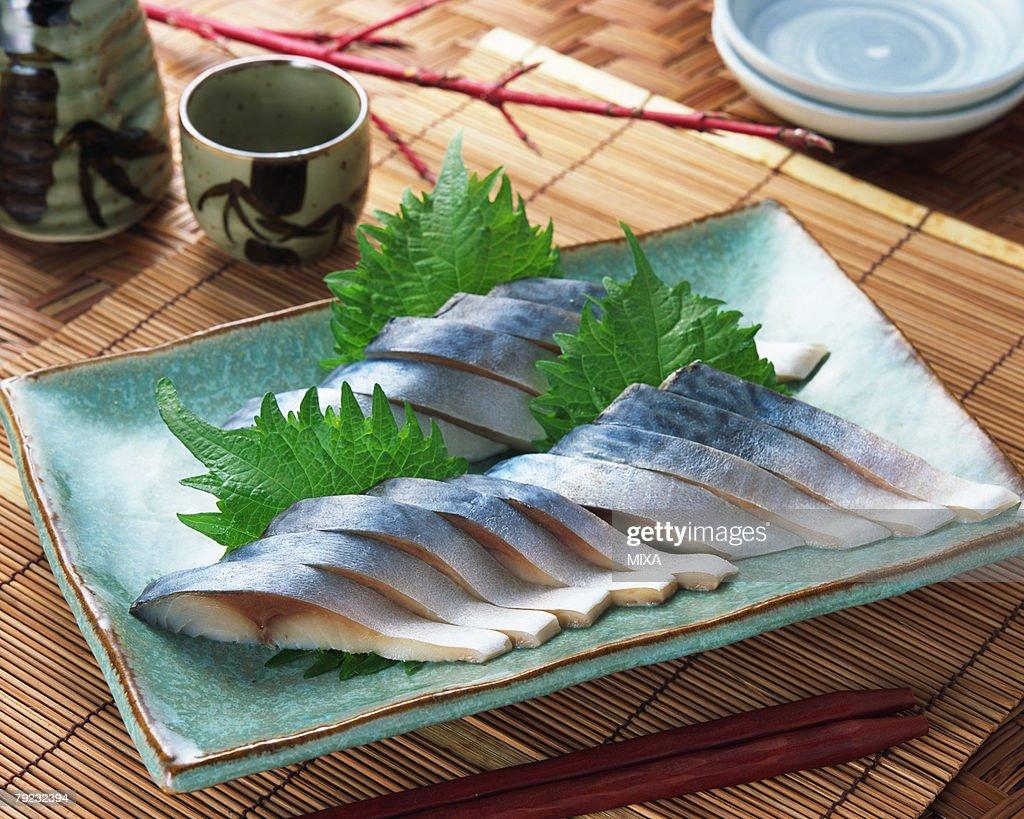 Vinegared Mackerel : Stock Photo