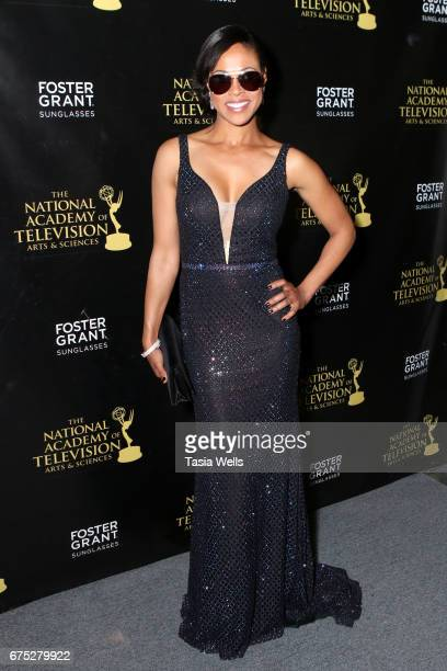 Vinessa Antoine attends the 44th Daytime Emmy Awards with Foster Grant on April 30 2017 in Los Angeles California