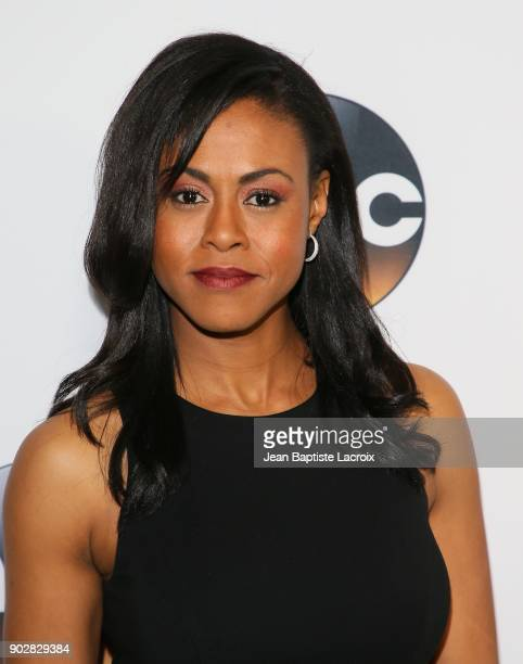Vinessa Antoine attends the Disney ABC Television Group Hosts TCA Winter Press Tour 2018 on January 8 2018 in Pasadena California